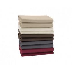 Hoeslakens Jersey Elasthan voor topmatras hoekhoogte 6-12 cm.