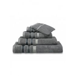 Handdoeken Van Dyck Prestige border molen grey