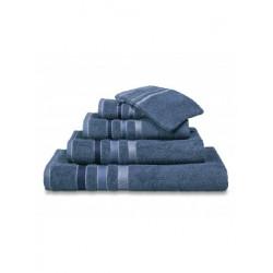 Handdoeken Van Dyck Prestige border vintage  blue