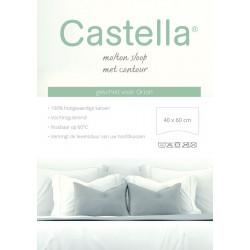 Molton kussensloop Castelle...