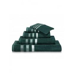 Handdoeken Van Dyck Prestige border dark green