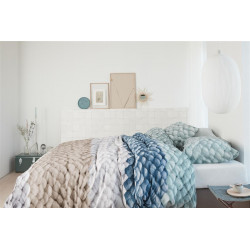 Ariadne at Home Chunky blue Dekbedovertrek -