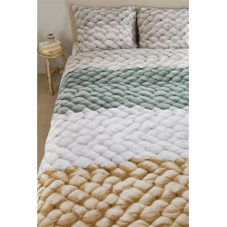 Ariadne at Home Chunky green  Dekbedovertrek -