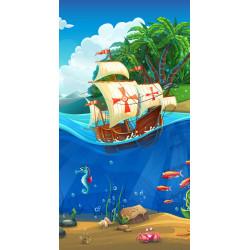 Strandlaken  Piraat